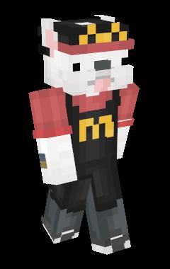 Peau de Minecraft McTrah